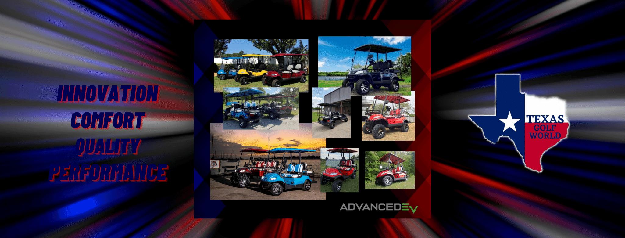 Advanced EV Golf Carts