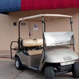 Used EZGO TXT for sale with rear flip seat