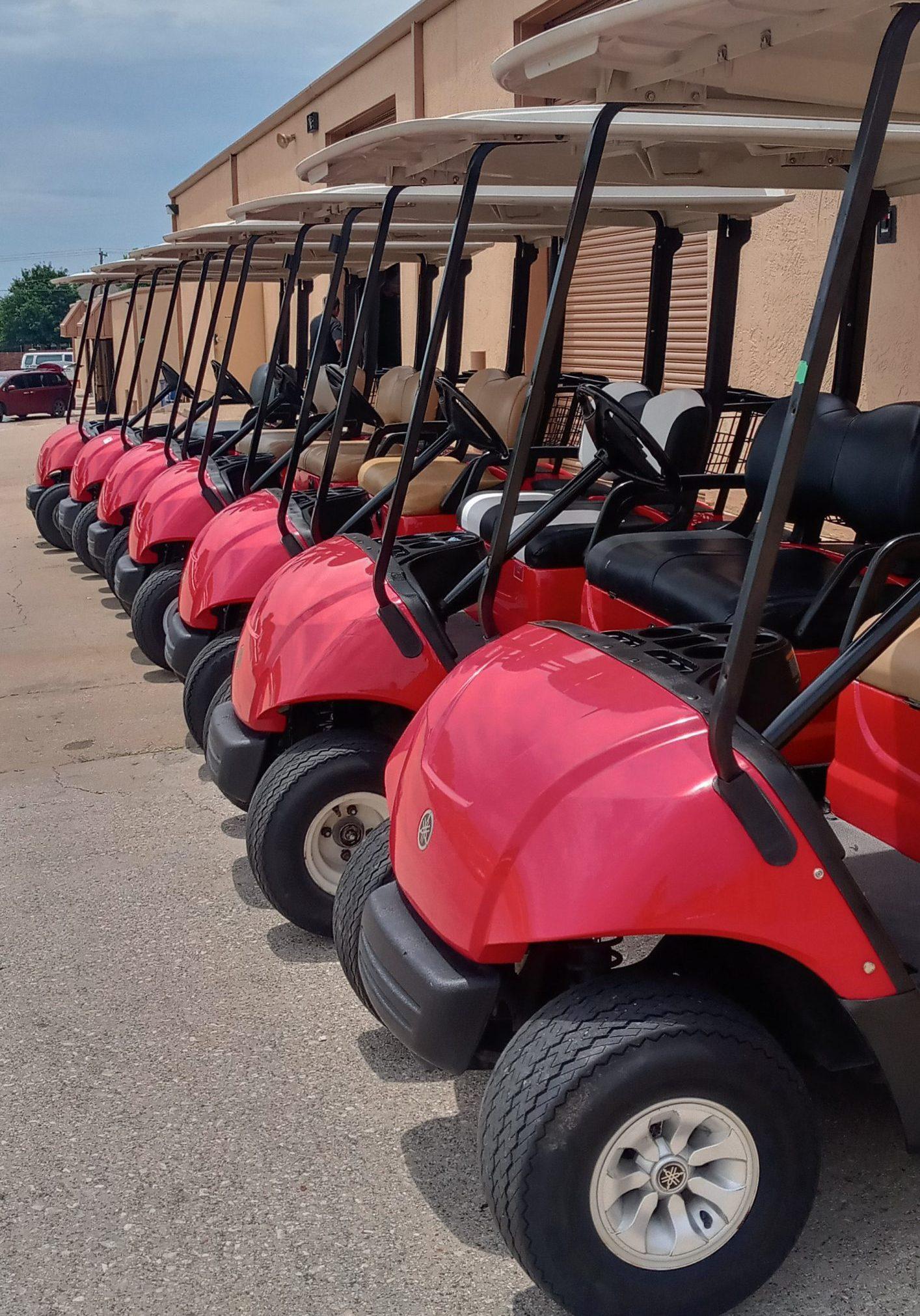 Golf Cart Rental fleet